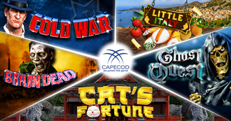 Capecod Gaming is proud to present The Best Land-based Slot Machines!